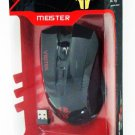 New Viotek Meister Extreme Wireless Gaming & Multimedia Laser Mouse W 7 Buttons