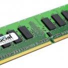 New Crucial 2GB DDR2 PC6400 800MHz PC2-6400 Low Density Desktop Memory RAM