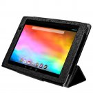 "New Gigaset Smart Kickstand QV830 Folding  Folio Case for 8"" Tablet - Black"