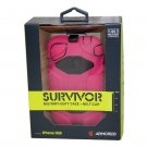 iPhone3G 3GS Griffin Survivor Military Duty Extreme HardCase with Belt Clip Pink