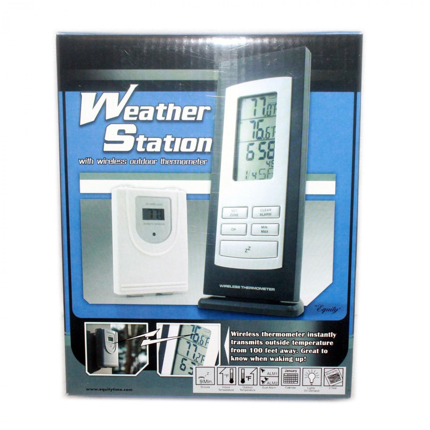 Equity wireless thermometer 31215
