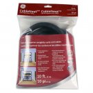 GE CableNeat Cable Organization Tubing 10FT - 20618