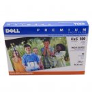 Brand New Dell Premium High Gloss 4x6 10.25mil 100 Sheets Photo Paper - DM132