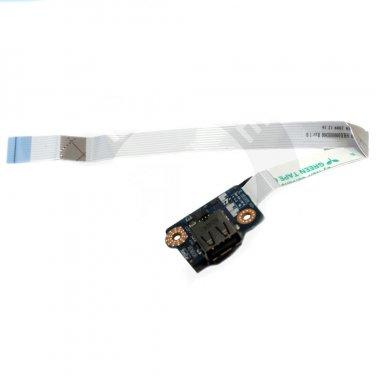 Dell Studio 1745 P02E USB Board with Cable - 0X0W5