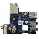 Dell Latitude E6400 Audio I/O USB Panel Board Ethernet - LS-3809P