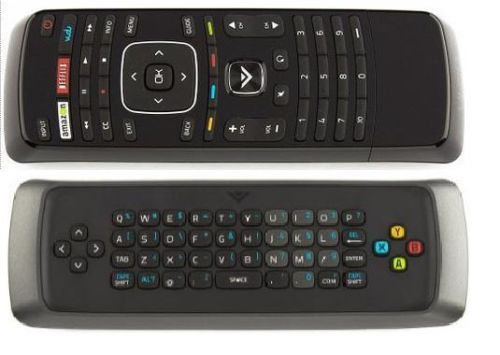 new vizio xrv1tv qwerty keyboard remote control