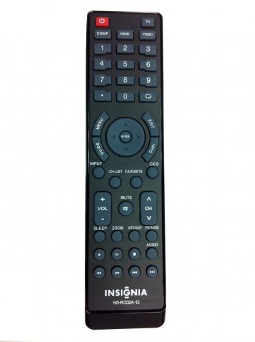 New In Original Package  INSIGNIA NS-RC02A-12 LCD TV Remote