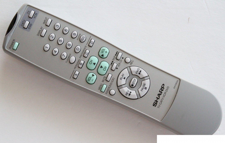 Original Sharp TV Remote Control GA108SA for 20F630 20F640 27F630 27F631 27UF5