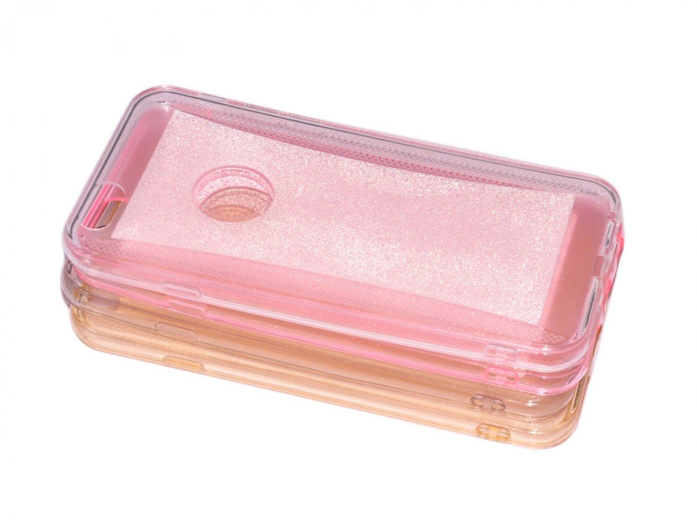 Ultra Thin Slim Soft TPU Transparent glitter Skin Case Cover for iPhone 6 4.7