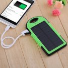 New Cell Phones USB Solar Panel Power Bank External Battery Pack Charger 5000mAh