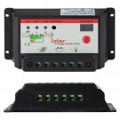 New Intelligent 30A PWM Solar Panel Controller 12V 24V Auto Battery Regulator