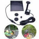 Solar Water Pump Panel Power Pool Garden Plants Fountain Watering Kit Floating