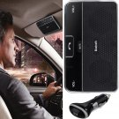 New Bluetooth 4.0 Car Kit Hands-Free Speakerphone with Clip Music Receiver Black