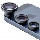 Manget 3in1 Fisheye Lens , Wide Angle , Micro Lens Photo Kit for iphone Series