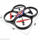 New WLToys V262 V2 Cyclone Large Quadcopter UFO 2.4G RTF with Camera