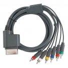New HD TV Component Composite Audio Video AV Cable Cord for Microsoft Xbox 360