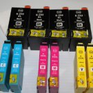 10 Print ink 252XL for Workforce WF-7110 7610 7620 3620 3640 Pro 5190 5620 5690