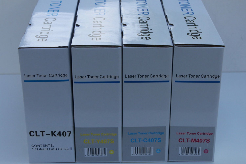 4 Color Toner Cartridge for Samsung Laser Printer CLP-320 325 CLX-3185 Series