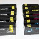 4 Black 950XL 6 Color 951XL Ink Cartridge for HP Officejet Pro Printer 8100 8600