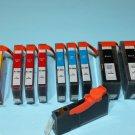 Lots of 12 Ink Cartridge for HP B209a B201a C309a C309g C310 C410 C6350 C6380