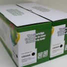 2 Black Toner Cartridge CB540A HP Color LaserJet CP1215 CP1515n CP1518 CM1312mfp