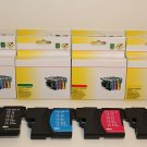 3 Set 12 Ink LC65 Brother 290 490 790 5490 5890 6490