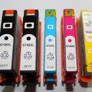 New 5 Ink Cartridge 670XL for HP Printer Deskjet 3525 4615 4625 5525 6525 Series