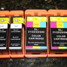 Lots of 4  for Dell Series 21,22,23,24 Ink Cartridge P513w V313  High YL
