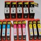 Lots of 14 Ink Cartridge 31,32,33,34 for Dell V525 V725w Printer