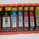 New Ink Cartridge 150XL Black&Color for Lexmark Printer S315 S415 S515 Pro 715