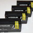 High Yield 4 Black Ink Cartridge 950XL CN045AN for HP Officejet Pro 8100 8600