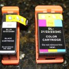 2x Ink Cartridge for Dell Series 21,24 P513w V313 w V515w