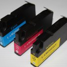 New 3 x Color Ink Cyan Magenta Yellow 200XL for Lexmark OfficeEdge Pro 4000 5000