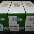 3 x Toner Cartridge 305A Cyan Magenta Yellow HP Color Laserjet Pro 300 M351 M375