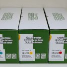 New 3x Color Set Toner Cartridge 128A For HP CP1525 CM1415