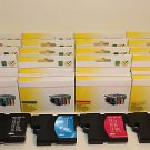 Lots of 24 Ink Cartridge LC61 Brother MFC-495cw 790cw 795cw 99