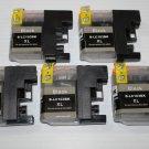 5x Black LC103 XL Ink for Brother DCP-J152W MFC-J245 J285DW J450DW J470DW