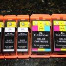 4x Dell Series 21,22,23,24 Ink Cartridge P-513 713 V-315 515 715 w