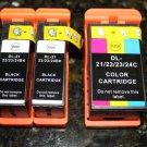 3 x Ink Cartridge Dell Series 21-22-23-24 T109n T110n P513W v515w High Yield