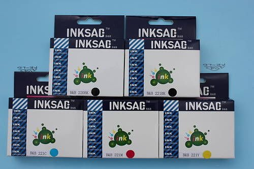 PGI-220 CLI-221, 20 Printer ink Cartridge for Canon