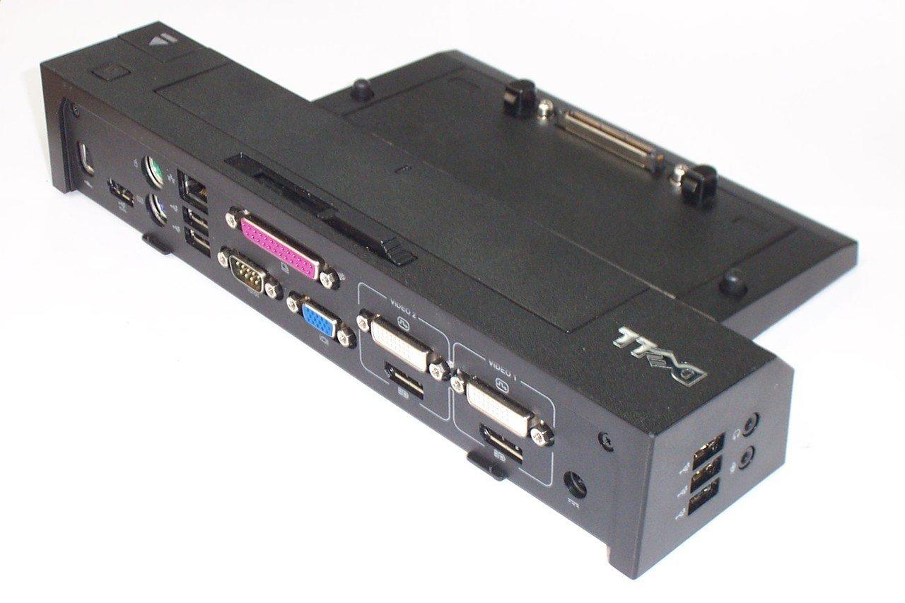 Dell latitude r537f cy640 f310c e port plus replicator dock station pr02x - Docking station port replicator ...