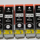 5 High Yield 273XL Black ink Cartridge for Expression Premium XP-600 610 800