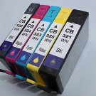 Lots of 5 Ink Cartridge XL 564 HP C5300 C6350 C6380 C310a C310g