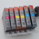 Lots of 6 Color CLI-226 Ink Cartridge for Canon MG-5120 5220
