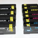 Lots of 10 950XL 951 Ink Cartridge for HP Officejet Pro Printer 8100 8600 Series