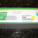 1x High Yield Yellow Toner Cartridge 106R01596 for Xerox Phaser 6500