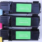 3 Color Printer Toner Cartridge for Xerox Phaser 6130 6130n Series Printer