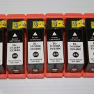 6/Pack High Yield Black Ink Cartridge 31/34 for Dell V525 V725w InkJet Printer