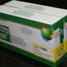 2 Yellow Toner 406 CLT-Y406s for Samsung CLP-365W CLX-3305W CLX-3305FW C410W
