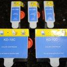 New 5 x Ink Cartridge 10 for Kodak ESP 5250 5300 5500 7250 6150 6.1 7.1
